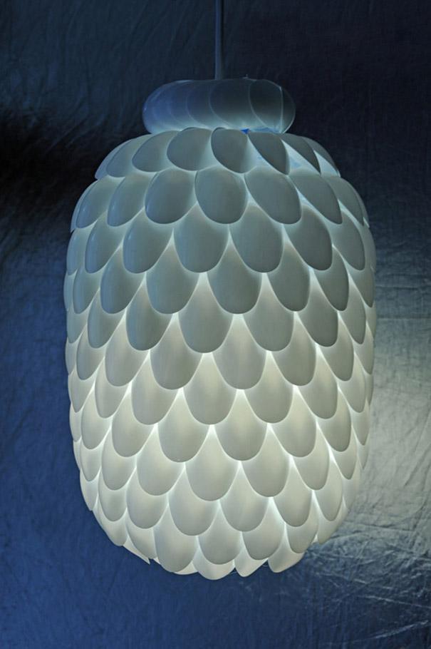 Lampa od plastične boce 3