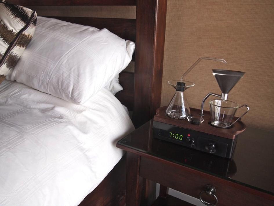 Budilnik – aparat za kafu