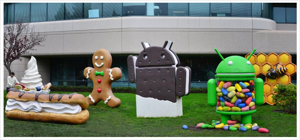 googleplex skulpture