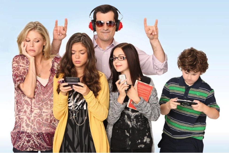 moderna porodica serija
