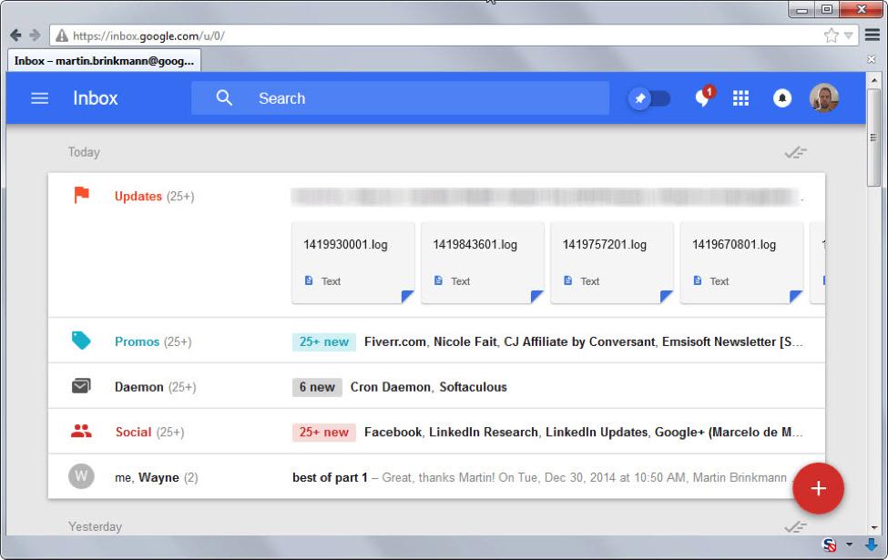 google gmail imbox
