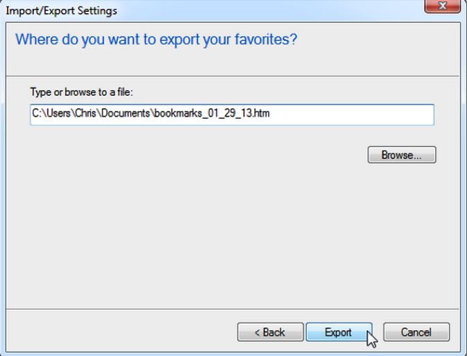 internet explorer bookmakrs5