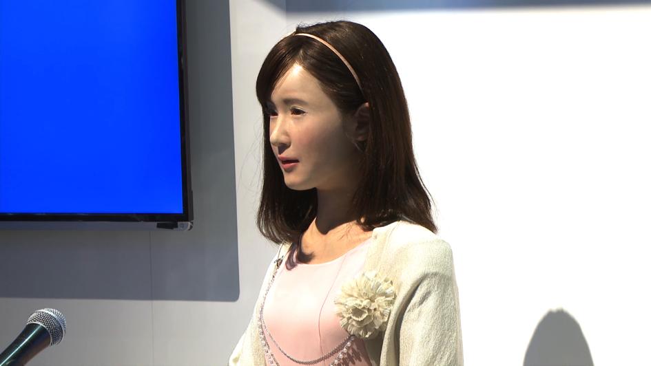 robot žena