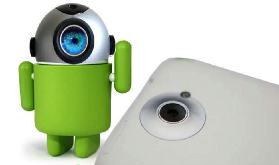 android web kamera