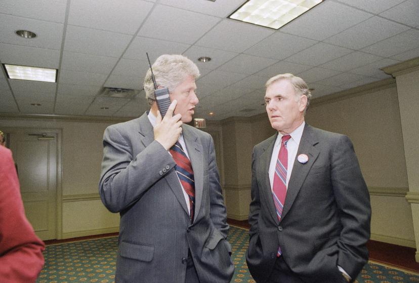 Bill Clinton,  Ray Flynn