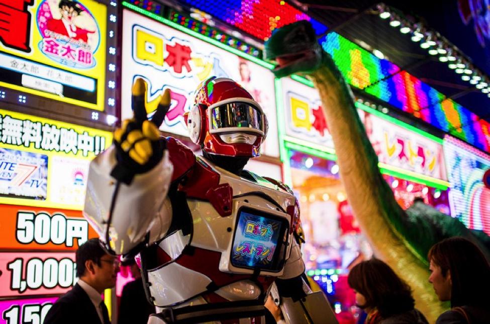 roboti i restoran