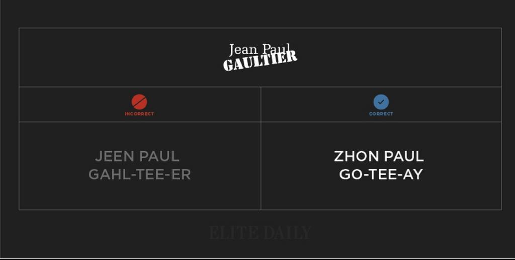 10 Jean Paul Gaultier