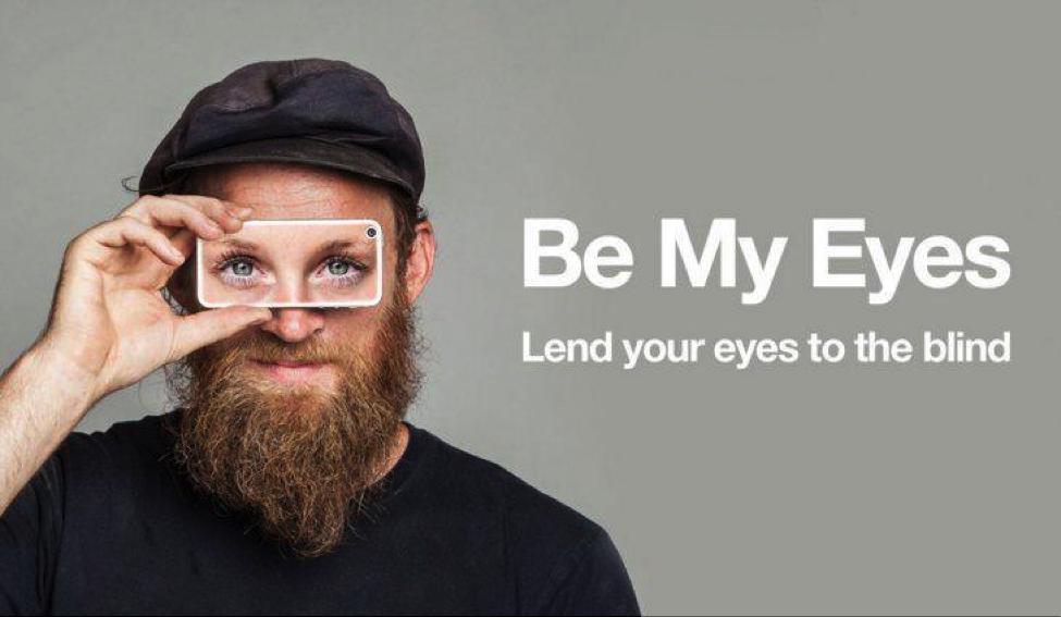 Be my eyes aplikacija