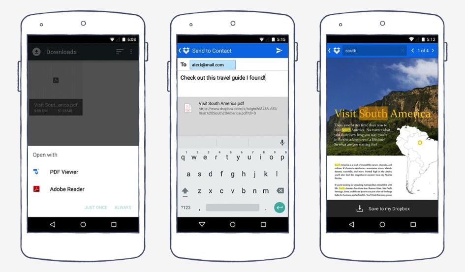 Dropbox za Android 2