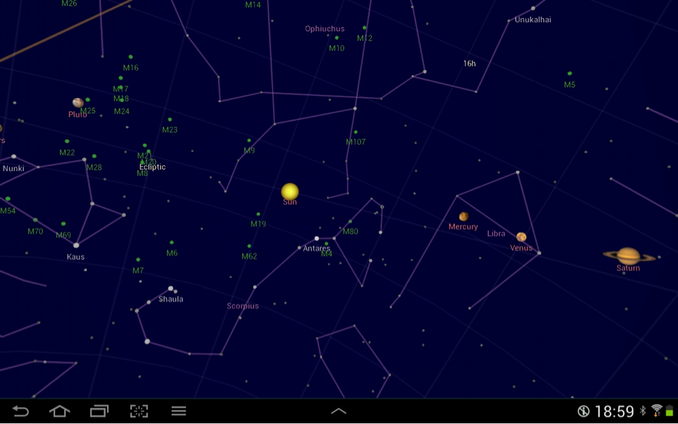 Google Sky Map2