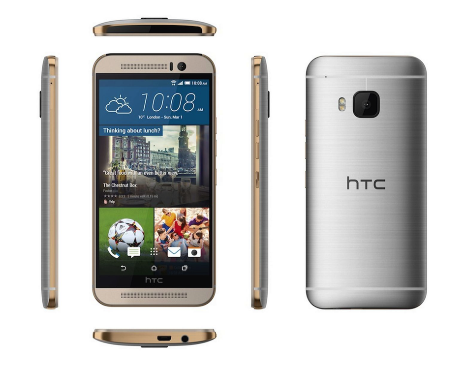 HTC One M9 vs One M8 3