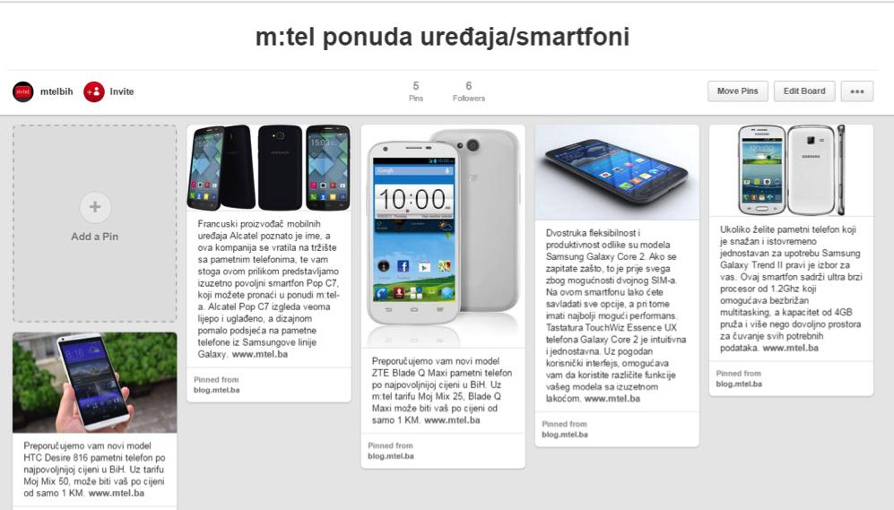 M-tel uređaji