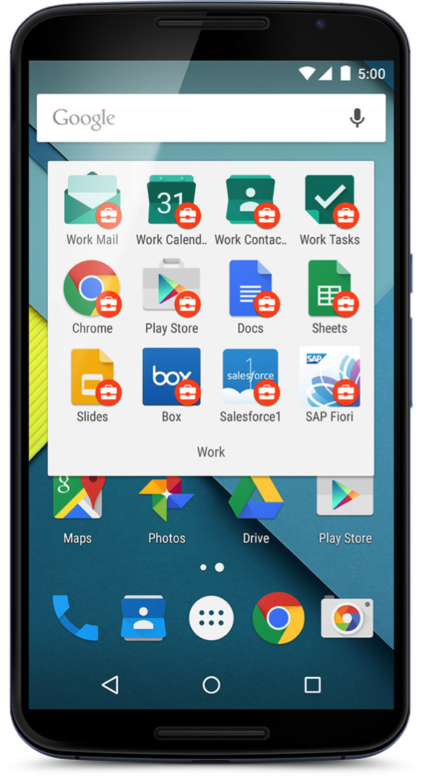 android for work google