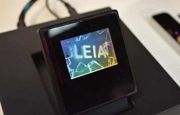 leia 3d hologram