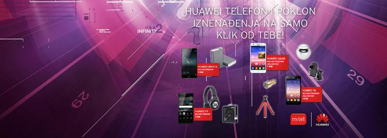 Huawei pokloni