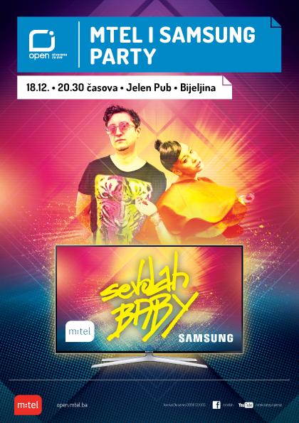 Samsung Mtel TV zurka