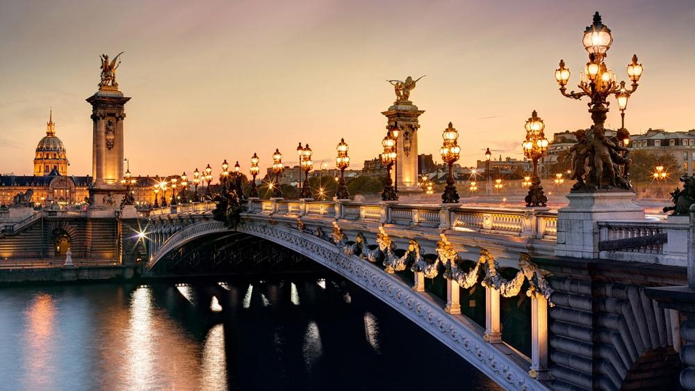 Most Aleksandra III, Francuska