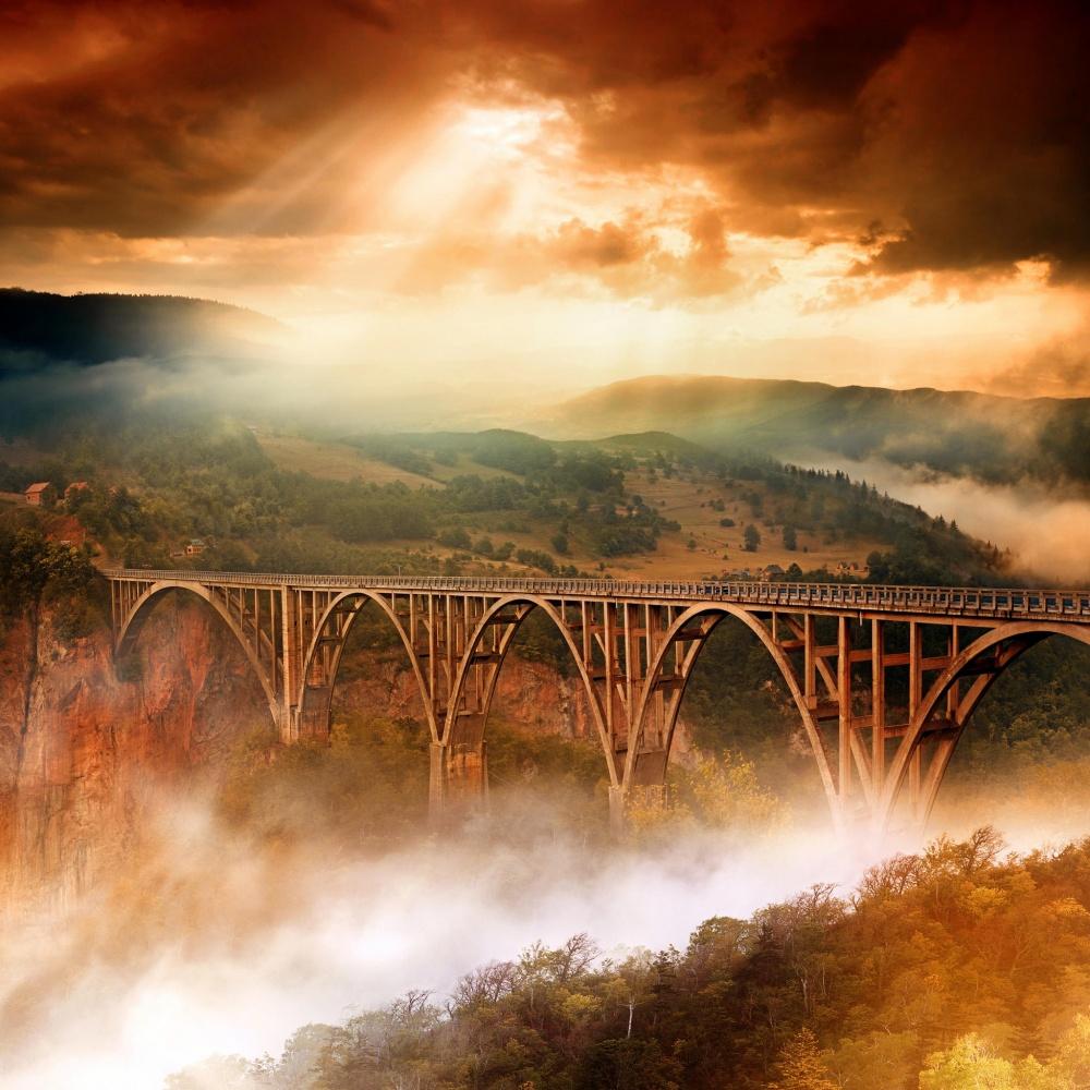 Most na Đurđevica Tari, Crna Gora