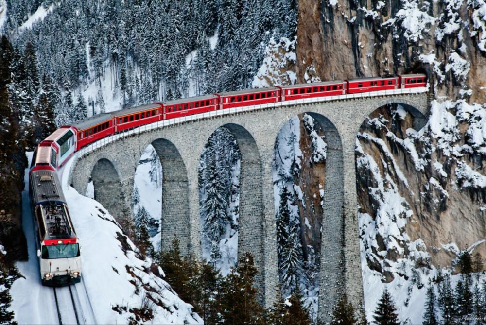 Vijadukt Landvaser, Švajcarska